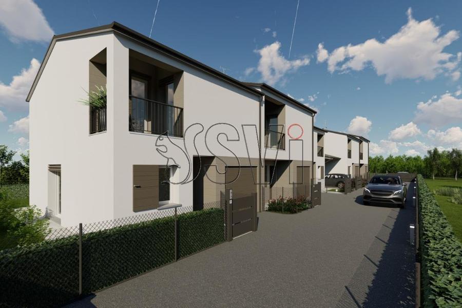 fotografie - Villa a schiera Faenza (RA) Periferia Monte